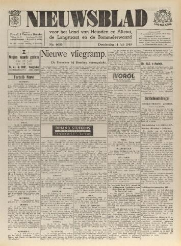 Nieuwsblad het land van Heusden en Altena de Langstraat en de Bommelerwaard 1949-07-14