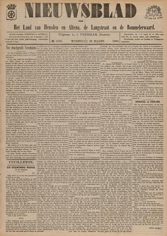 Nieuwsblad het land van Heusden en Altena de Langstraat en de Bommelerwaard 1900-03-28