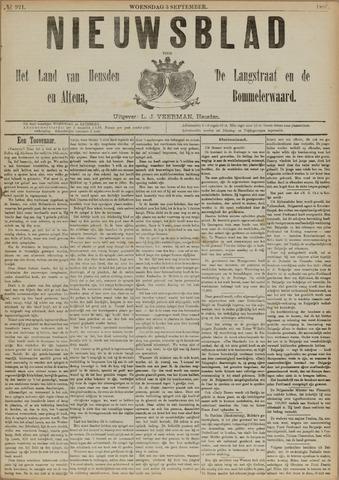 Nieuwsblad het land van Heusden en Altena de Langstraat en de Bommelerwaard 1890-09-03