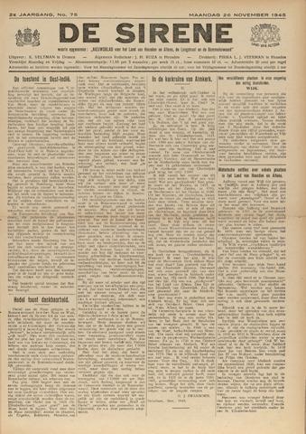 De Sirene 1945-11-26