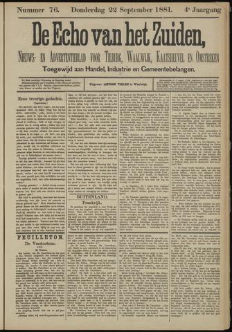 Echo van het Zuiden 1881-09-22