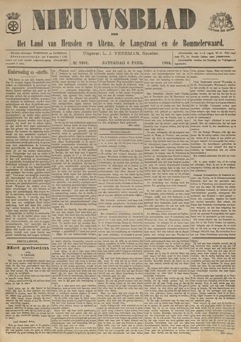 Nieuwsblad het land van Heusden en Altena de Langstraat en de Bommelerwaard 1904-02-06