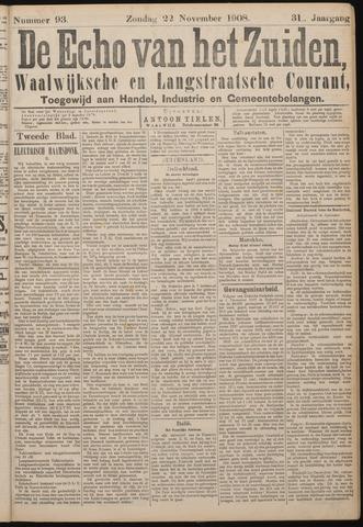 Echo van het Zuiden 1908-11-22