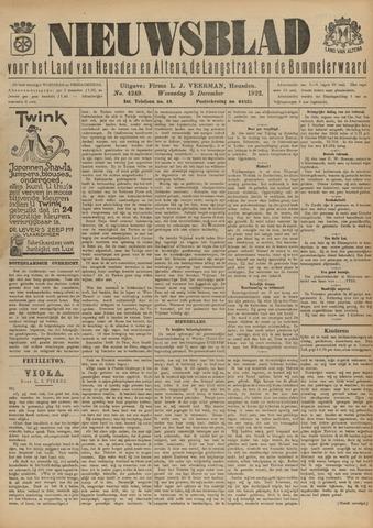 Nieuwsblad het land van Heusden en Altena de Langstraat en de Bommelerwaard 1922-12-05