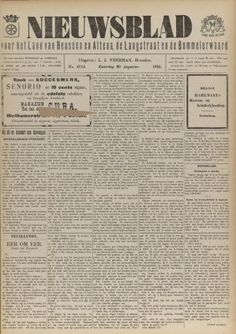 Nieuwsblad het land van Heusden en Altena de Langstraat en de Bommelerwaard 1921-08-20