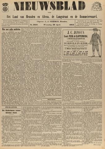 Nieuwsblad het land van Heusden en Altena de Langstraat en de Bommelerwaard 1913-04-23