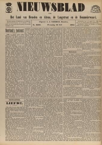 Nieuwsblad het land van Heusden en Altena de Langstraat en de Bommelerwaard 1915-07-14
