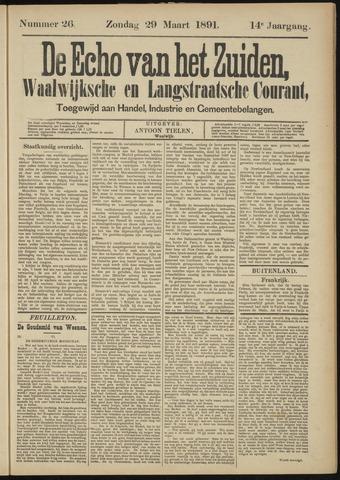 Echo van het Zuiden 1891-03-29