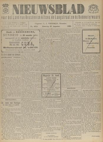 Nieuwsblad het land van Heusden en Altena de Langstraat en de Bommelerwaard 1920-08-21