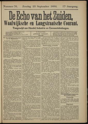 Echo van het Zuiden 1894-09-23