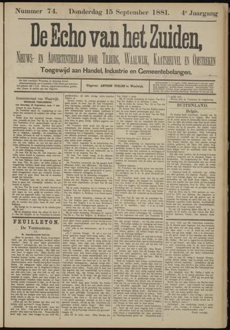 Echo van het Zuiden 1881-09-15