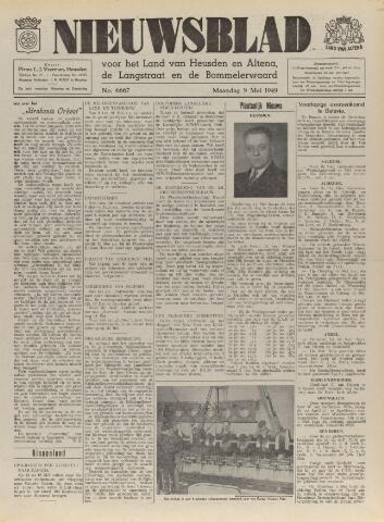 Nieuwsblad het land van Heusden en Altena de Langstraat en de Bommelerwaard 1949-05-09