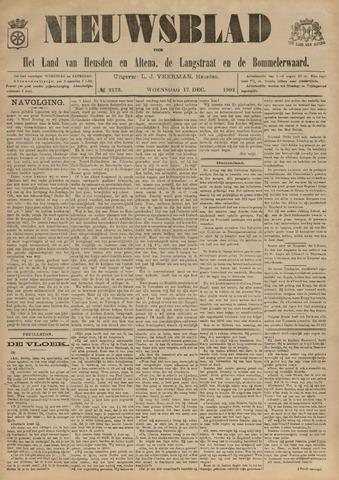 Nieuwsblad het land van Heusden en Altena de Langstraat en de Bommelerwaard 1902-12-17