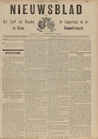 Nieuwsblad het land van Heusden en Altena de Langstraat en de Bommelerwaard 1887-08-27
