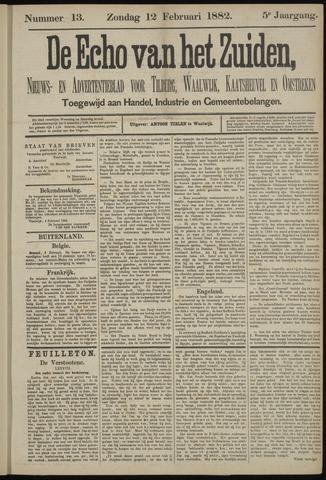 Echo van het Zuiden 1882-02-12