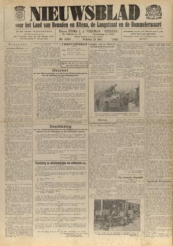 Nieuwsblad het land van Heusden en Altena de Langstraat en de Bommelerwaard 1943-05-21