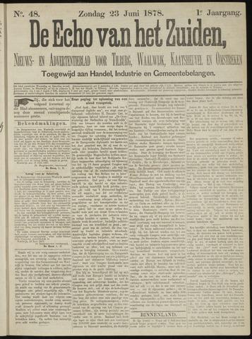Echo van het Zuiden 1878-06-23