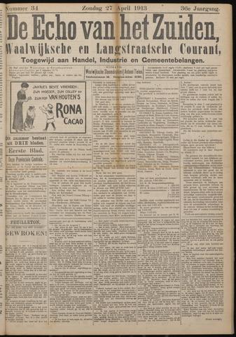 Echo van het Zuiden 1913-04-27
