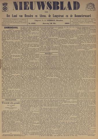 Nieuwsblad het land van Heusden en Altena de Langstraat en de Bommelerwaard 1908-05-16