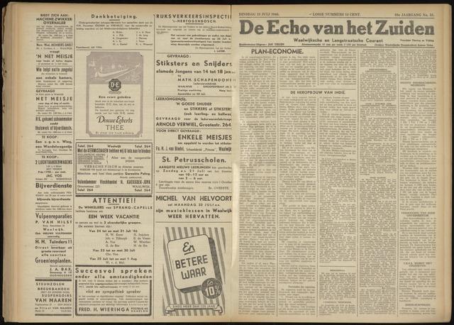 Echo van het Zuiden 1946-07-23