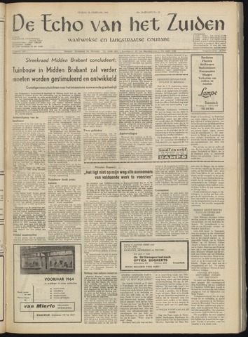 Echo van het Zuiden 1964-02-11
