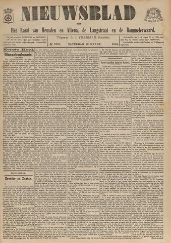 Nieuwsblad het land van Heusden en Altena de Langstraat en de Bommelerwaard 1904-03-19