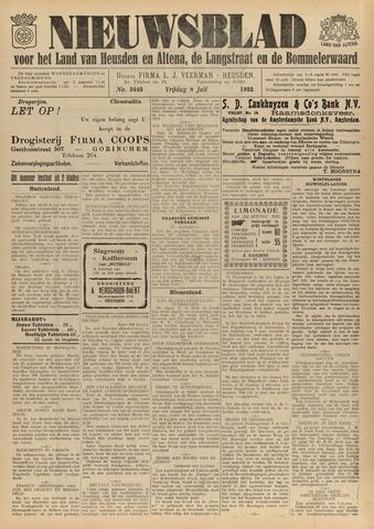 Nieuwsblad het land van Heusden en Altena de Langstraat en de Bommelerwaard 1932-07-08