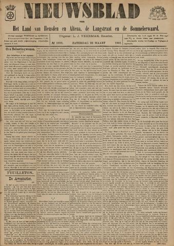 Nieuwsblad het land van Heusden en Altena de Langstraat en de Bommelerwaard 1901-03-23