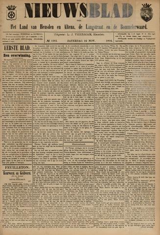 Nieuwsblad het land van Heusden en Altena de Langstraat en de Bommelerwaard 1894-11-24