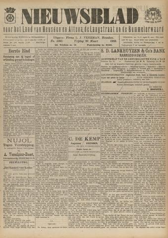 Nieuwsblad het land van Heusden en Altena de Langstraat en de Bommelerwaard 1925-03-20