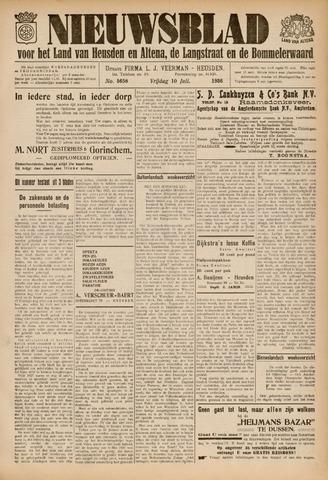 Nieuwsblad het land van Heusden en Altena de Langstraat en de Bommelerwaard 1936-07-10