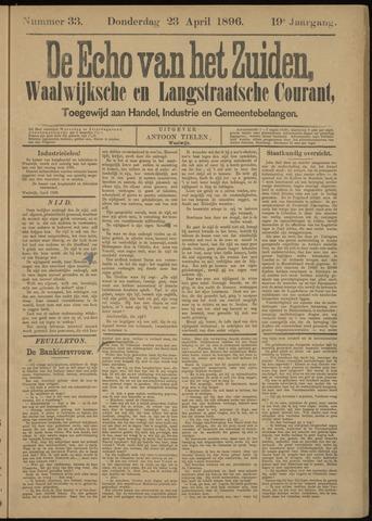 Echo van het Zuiden 1896-04-23