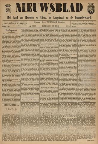 Nieuwsblad het land van Heusden en Altena de Langstraat en de Bommelerwaard 1894-12-15