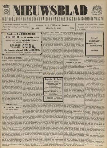 Nieuwsblad het land van Heusden en Altena de Langstraat en de Bommelerwaard 1920-07-24