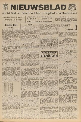Nieuwsblad het land van Heusden en Altena de Langstraat en de Bommelerwaard 1948-12-16