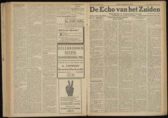 Echo van het Zuiden 1946-05-14