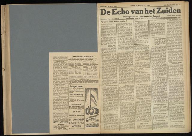 Echo van het Zuiden 1946-06-18