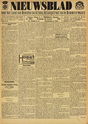 Nieuwsblad het land van Heusden en Altena de Langstraat en de Bommelerwaard 1927-01-12