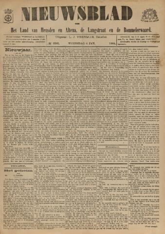 Nieuwsblad het land van Heusden en Altena de Langstraat en de Bommelerwaard 1904-01-06