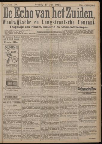 Echo van het Zuiden 1914-07-19
