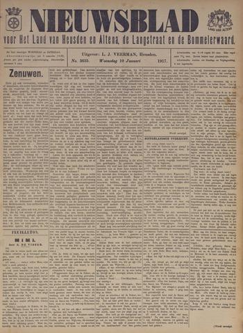 Nieuwsblad het land van Heusden en Altena de Langstraat en de Bommelerwaard 1917-01-10