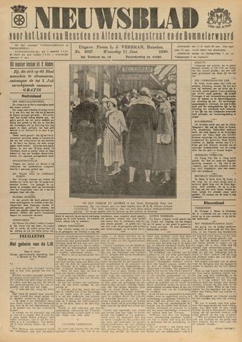 Nieuwsblad het land van Heusden en Altena de Langstraat en de Bommelerwaard 1930-06-11