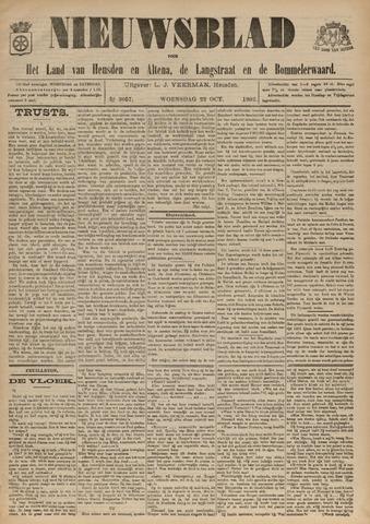 Nieuwsblad het land van Heusden en Altena de Langstraat en de Bommelerwaard 1902-10-22