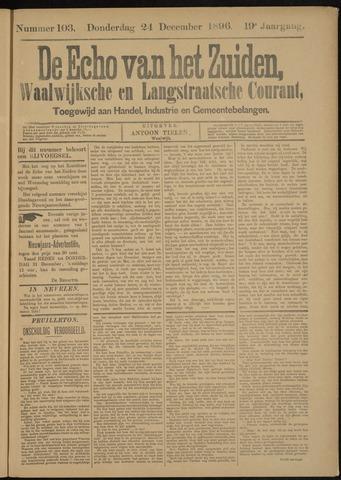 Echo van het Zuiden 1896-12-24