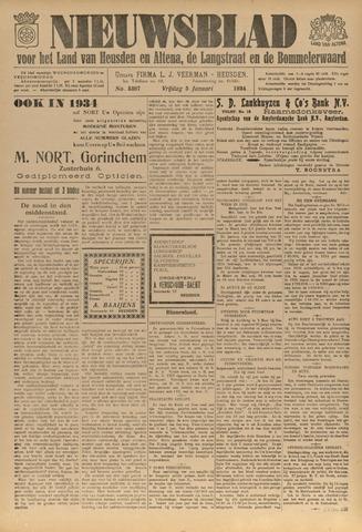Nieuwsblad het land van Heusden en Altena de Langstraat en de Bommelerwaard 1934-01-05