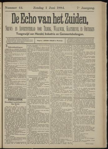 Echo van het Zuiden 1884-06-01
