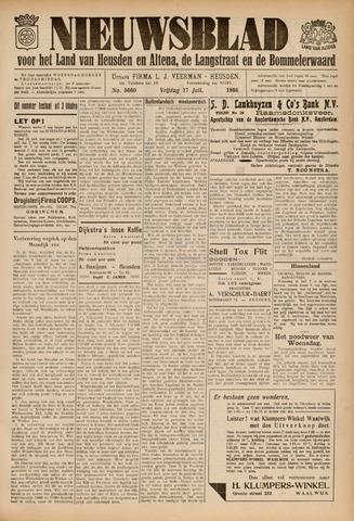 Nieuwsblad het land van Heusden en Altena de Langstraat en de Bommelerwaard 1936-07-17