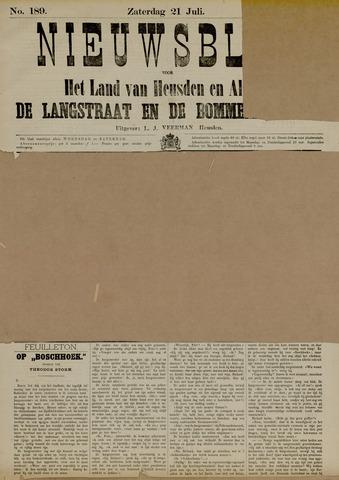 Nieuwsblad het land van Heusden en Altena de Langstraat en de Bommelerwaard 1883-07-21