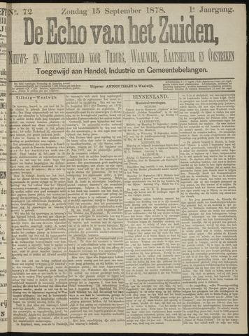 Echo van het Zuiden 1878-09-15