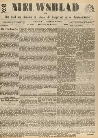 Nieuwsblad het land van Heusden en Altena de Langstraat en de Bommelerwaard 1913-11-26